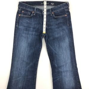 7 For All Mankind Jeans - 7 for all mankind dojo flare jeans 28x28